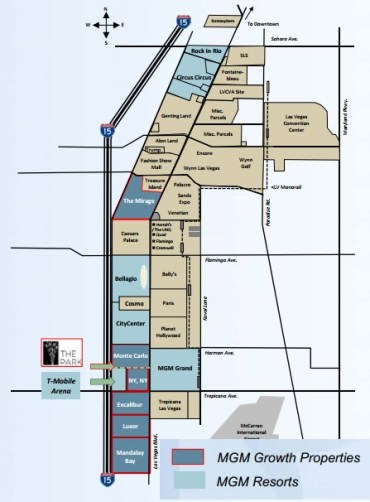 Mgm Properties Las Vegas