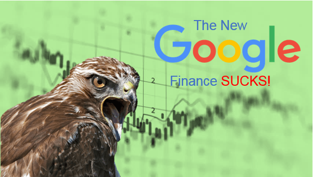 The New Google Finance Sucks – This is a Rant