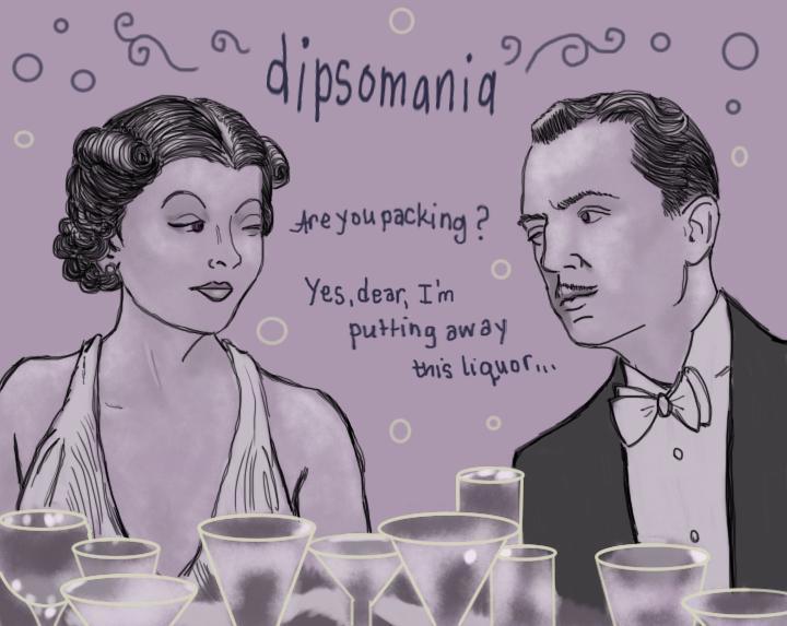 Dipsomania by Amanda Wood