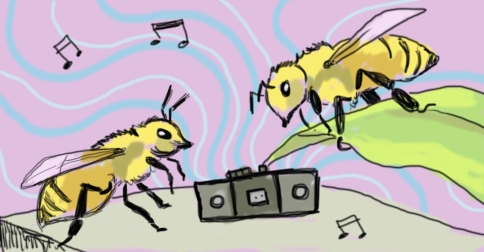 Bee Music by Amanda Wood