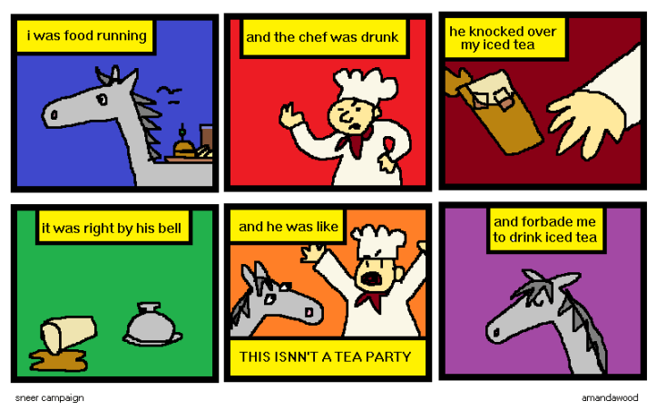 horse comics