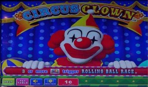 Circus Clown Slot Machine