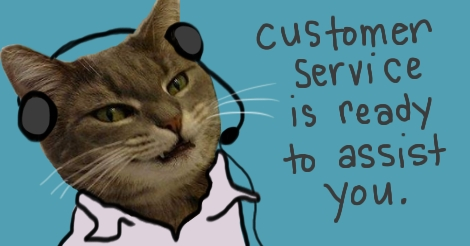 Olive As Customer Service Rep by Amanda Wood