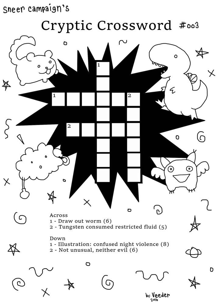 cryptic crossword 3