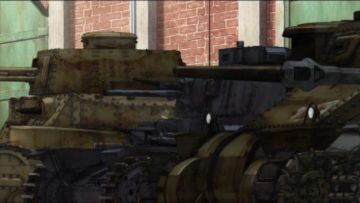 Girls und Panzer Anime Review