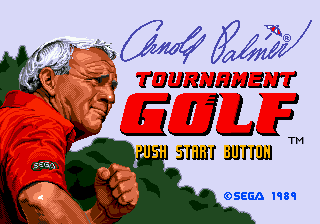 Arnold Palmer Tournament Golf for Sega