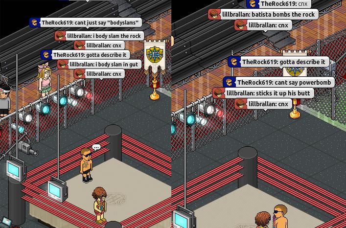 Very Bad Habbo Wrestling