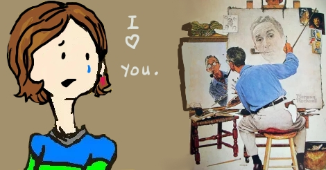 i love you norman rockwell