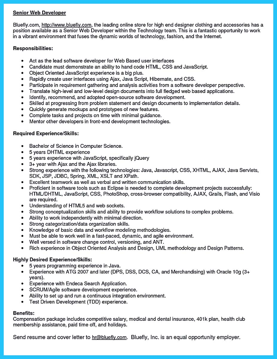 Web Services Tester Cover Letter 3 Oracle Apps Developer
