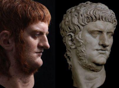 Воссоздана внешность императора Нерона – Снег.TV