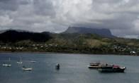 Utsikt over bukta mot El Yunque