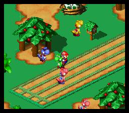 Super Mario RPG Legend Of The Seven Stars SNES Super Nintendo Game By Nintendo Square