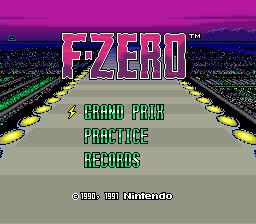 F-Zero 01