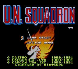 U.N. Squadron 01