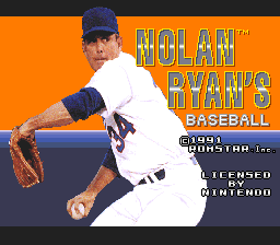 Nolan Ryan's Baseball 01