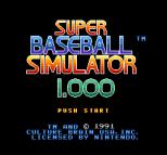 Super Baseball Simulator 1.000 01