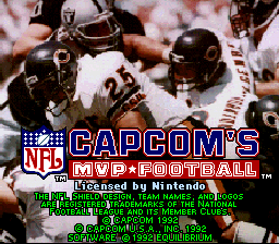 Capcom's MVP Football 01