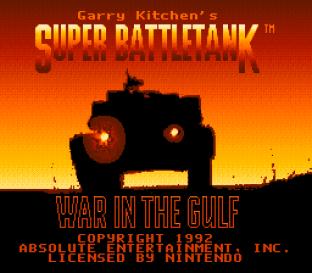 Garry Kitchen's Super Battletank - War in the Gulf 01