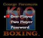 George Foreman's KO Boxing 02
