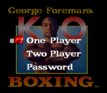 George Foreman's KO Boxing 02