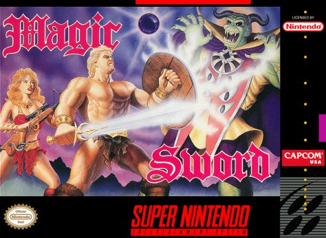 SNES A Day 71: Magic Sword - SNES A Day