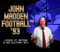 John Madden Football 93 01
