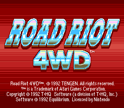 Road Riot 4WD 01