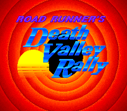 Road Runner's Death Valley Rally 01