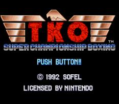 TKO Super Championship Boxing 01