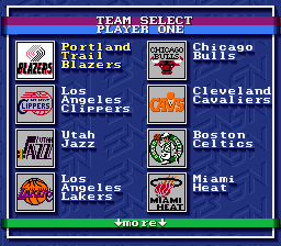 Bulls versus Blazers and the NBA Playoffs 03