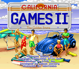 California Games II 01
