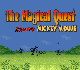 The Magical Quest Starring Mickey Mouse 01