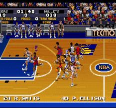 Tecmo Super NBA Basketball 12