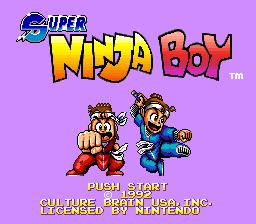 Super Ninja Boy 01