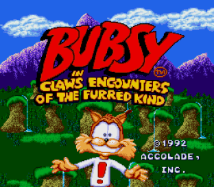 Bubsy in Claws Encounters of the Furred Kind 001