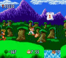 Bubsy in Claws Encounters of the Furred Kind 006