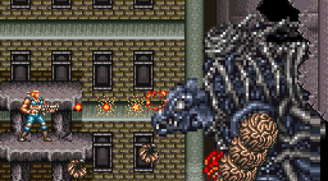 SNES A Day 47: Contra III: The Alien Wars