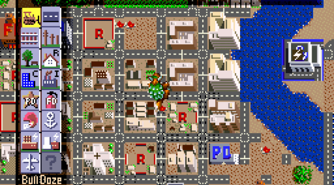 SNES A Day 4: SimCity