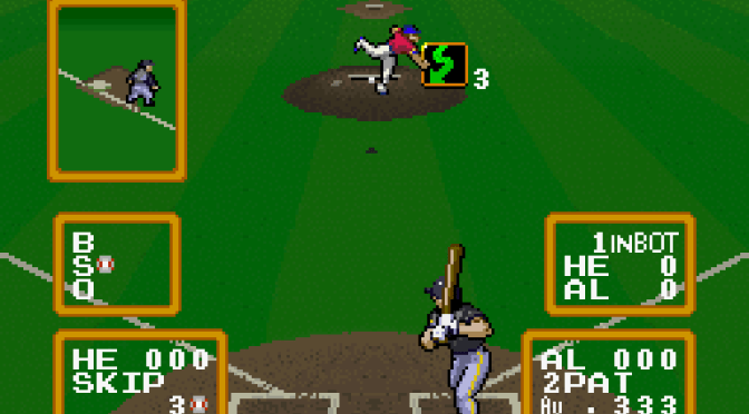 SNES A Day 26: Super Baseball Simulator 1.000