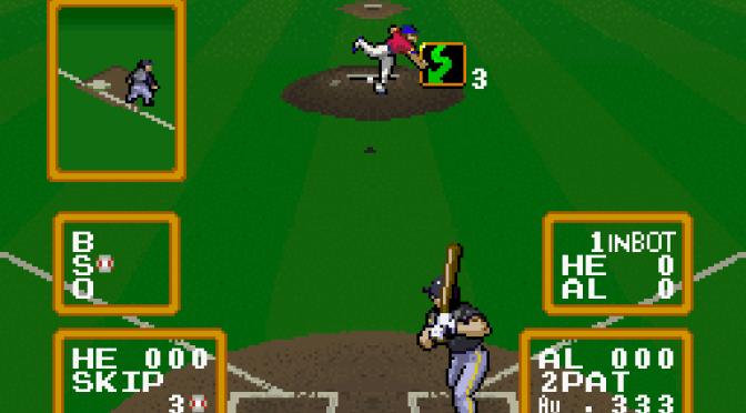 SNES A Day 26: Super Baseball Simulator 1.000