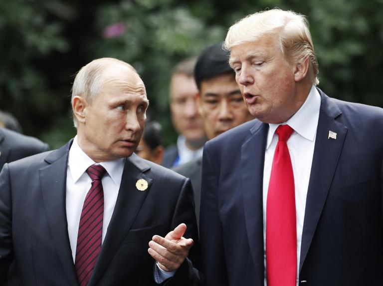 Donald Trump announcing imminent talks with Vladimir Putin 'takes advisers by surprise'