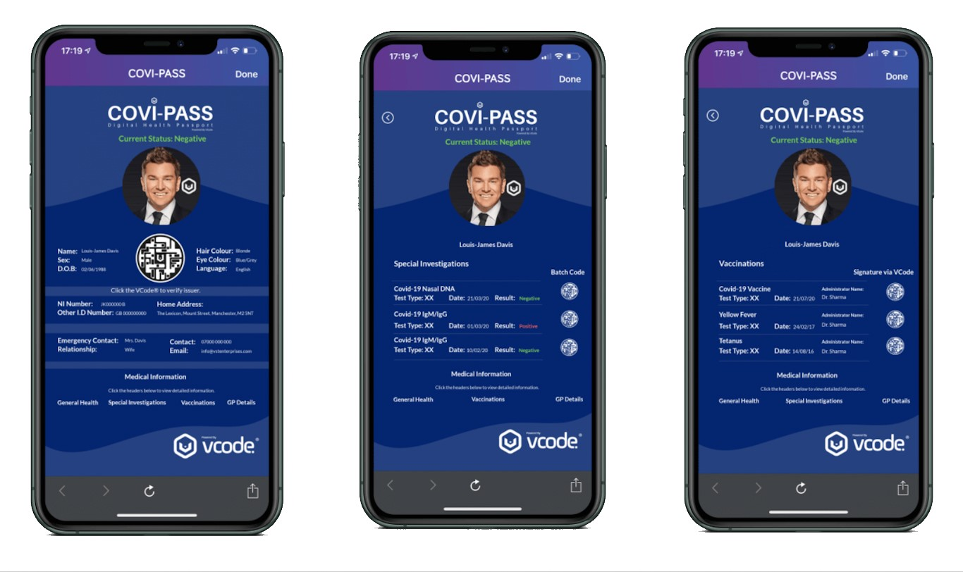 COVI-Pass APP