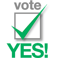 Image result for vote yes