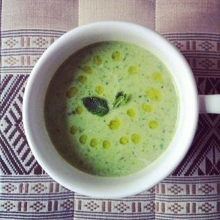 Peas Mint Coconut velouté http://wp.me/p3iY4S-BH