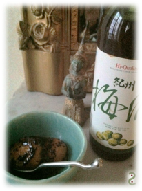 fruity chypre with umeshu