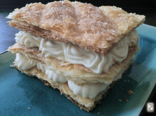 Sweeet dreams: floral mille-feuille pastry http://wp.me/p3iY4S-kg