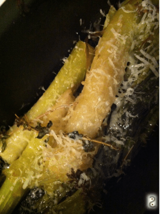 Braised leek with white wine and miso http://wp.me/p3iY4S-tm