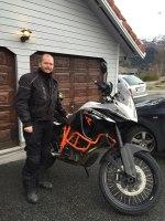 KTM 1190 Adventure R 2015 er en høy sykkel