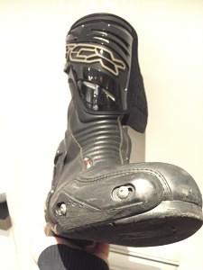 Nye støvler med velfungerende toe-slider