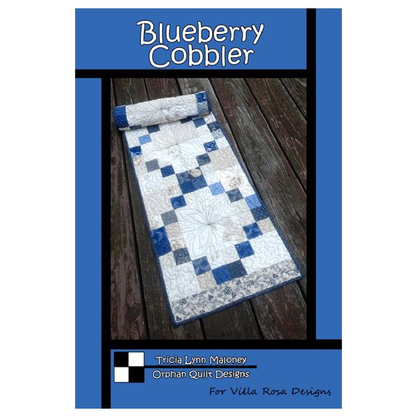 Blueberry Cobbler Table Runner